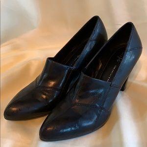 Franco Sarto Artist's Collection sz 10 Black Heels